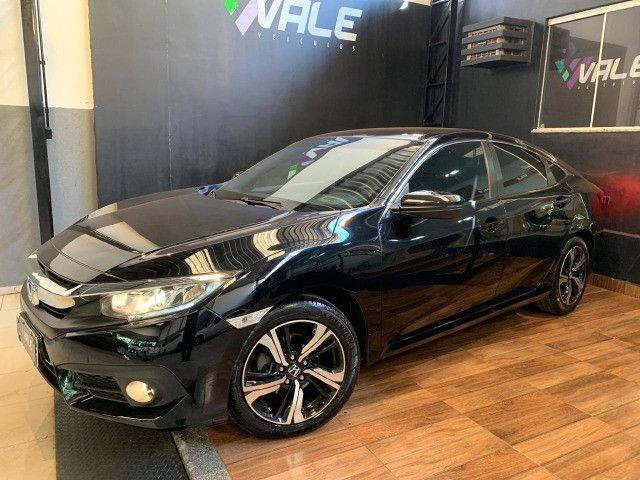 Civic EXL 2.0 com Revisões na Honda + Pneus Michelin
