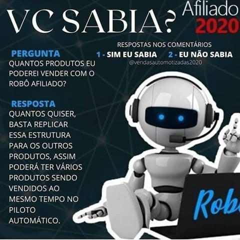 Robô Afiliado - Foto 3
