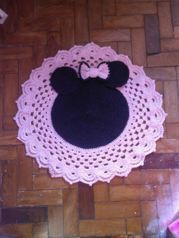 Lindos tapetes de Crochê, modelos diversos. - Foto 4