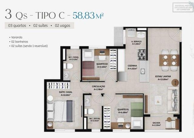 Apartamentos novos no Passaré com 2 e 3 quartos  - Foto 17