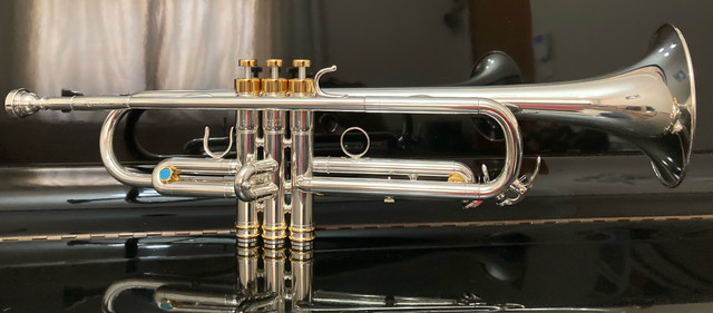 Trompete Yamaha Japan Prata  - Foto 2