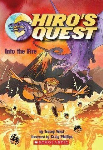 Livro- Hiro's Quest- Into The Fire (em inglês)