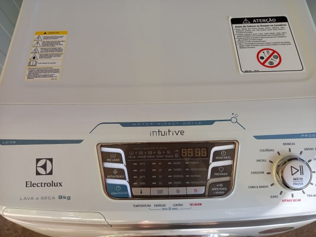 Lava e seca Electrolux 1.700,00 EXTRA!!