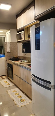 apartamento de 3 qts com escaninho, armários, porcelanato, condomínio reserva da amazônia - Foto 12