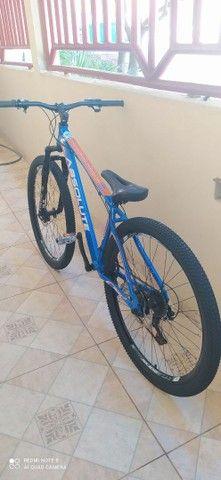 Bicicleta aro 29 aceito troca - Foto 4