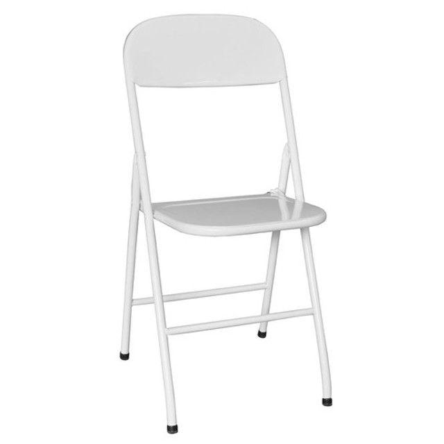 Cadeira Bar em Aço Dobravél, no Dinheiro = $ 49,00
