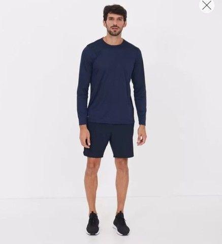 Camisa UV proteção Solar Masculina - Foto 2