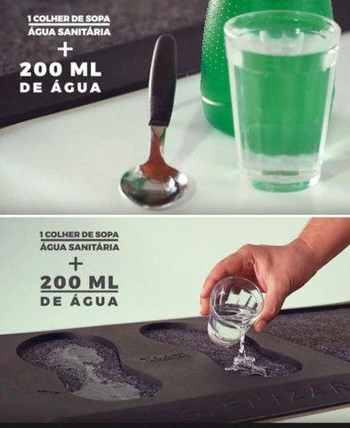 Tapete Sanitizante Pedilúvio Capacho Higienizador 75x47 Top - Foto 4