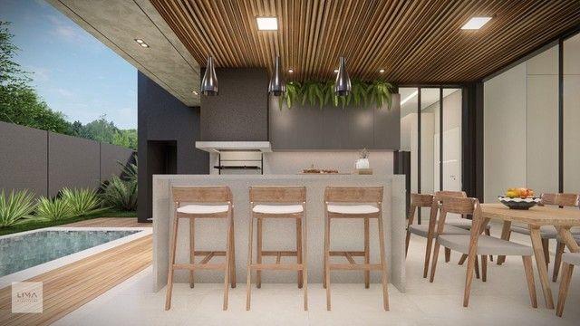Casa com 3 dormitórios à venda, 200 m² por R$ 1.600.000,00 - Alphaville 3 - Campo Grande/M - Foto 9