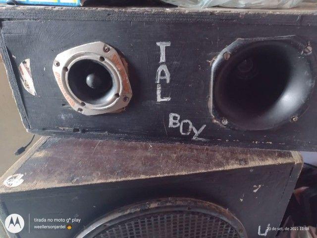 Vendo caixa de som montado leia a discricao