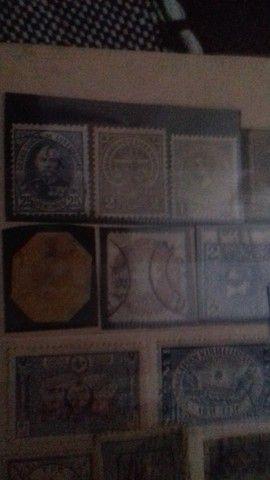 Coleção de selos raros  - Foto 4
