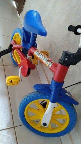 Bicicleta infantil bombeiro  - Foto 2