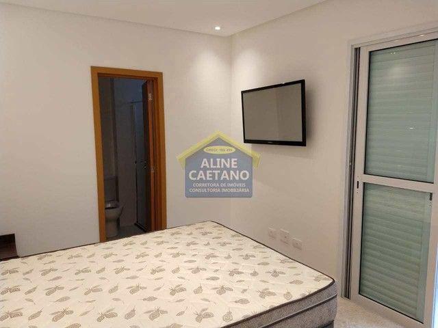 Apart. 4 dorms, 3 Vagas, Canto do Forte, JGA135 - Foto 17