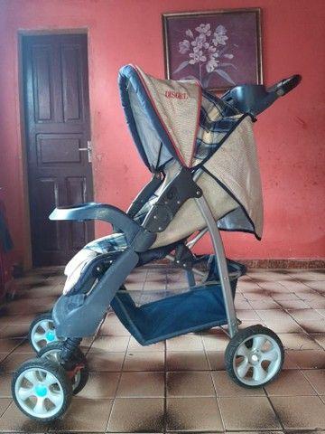 vendo carrinho de bebê bem conservado