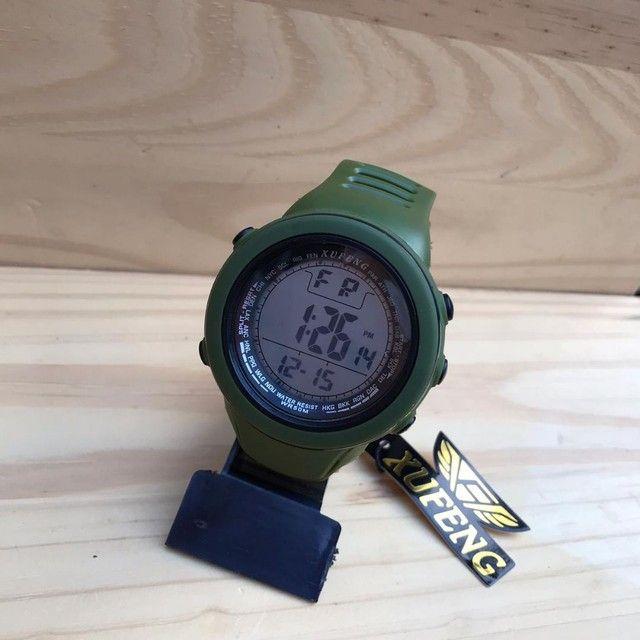Relógio digital xufeng Prova d'água caixa grande  - Foto 3