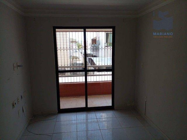 Apartamento com 3 dormitórios para alugar, 75 m² por R$ 1.100/mês - Jardim Cidade Universi - Foto 3