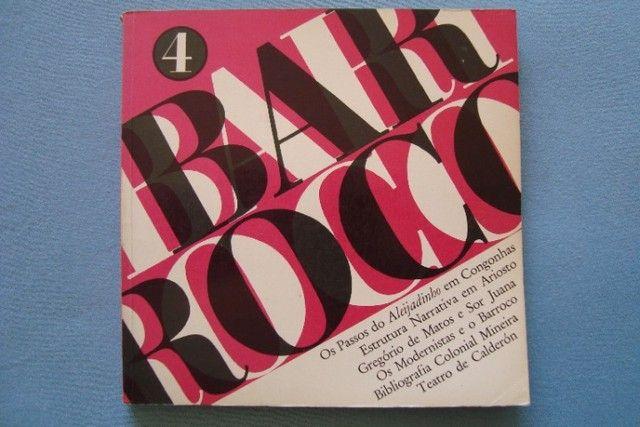 Livro Revista Barroco N° 4 - 1972