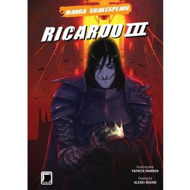 Livro- Ricardo III- Mangá Shakespeare