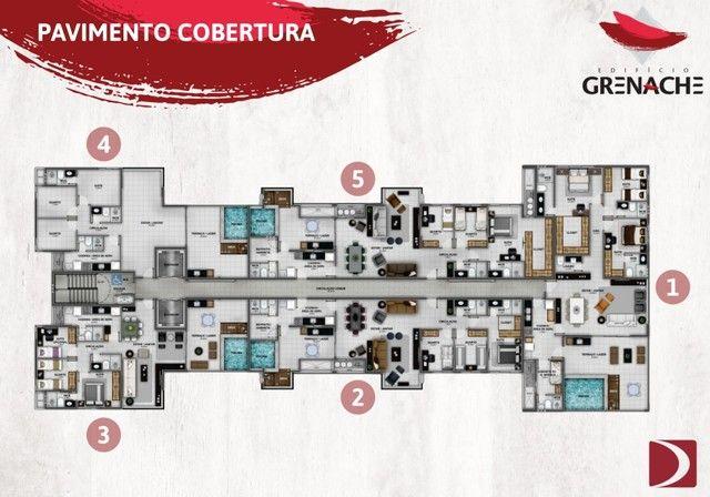 Lançamento na Jatiúca - EDF Grenache - 3/4 sendo um suite - Financiamento direto com a con - Foto 10
