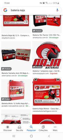 Bateria de moto Naja  - Foto 2