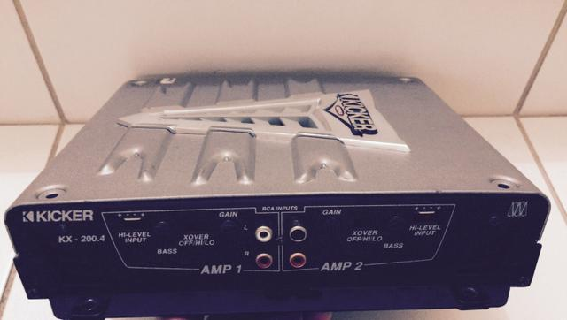 Amplificador Kicker 4 canais