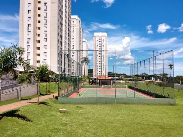 Apto no Residencial Bela Vista - Bairro Rita Vieira - 2 dormitórios