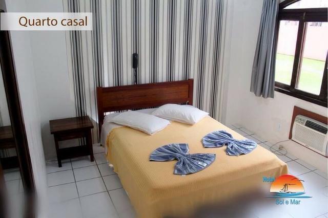 Aluguel de quartos hotel pousada sol e mar