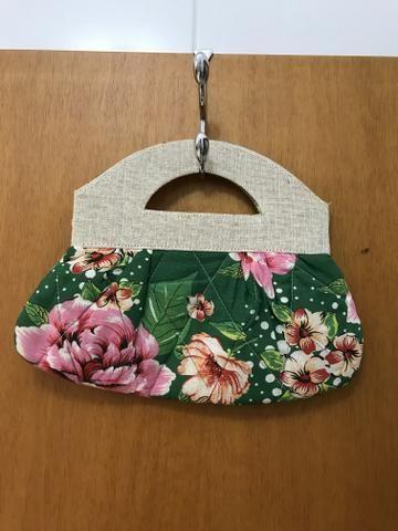 Bolsa de Mão de Chita - Foto 2