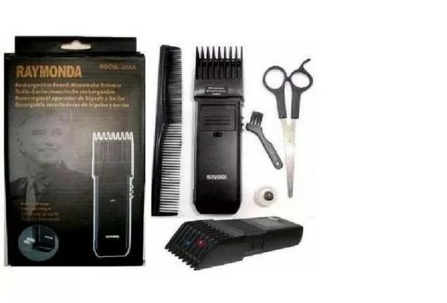 Máquina De Aparar e fazer pezinho em Barba Cabelo Rifeng Raymonda Recarregável Bivolt