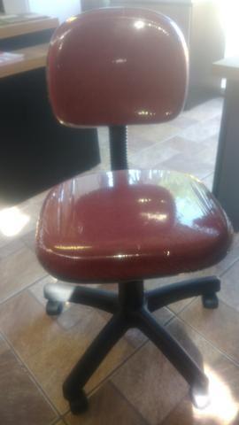 Cadeira secretaria giratória produto novo-em estoque