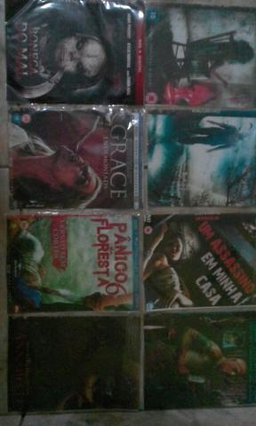 Vendo coleção de 130 dvd de filmes