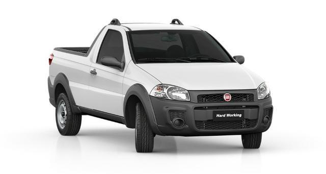 Fiat Strada Hard Working CS 1.4 Manual Flex 19/20 0km com ipva 2020 - Foto 4