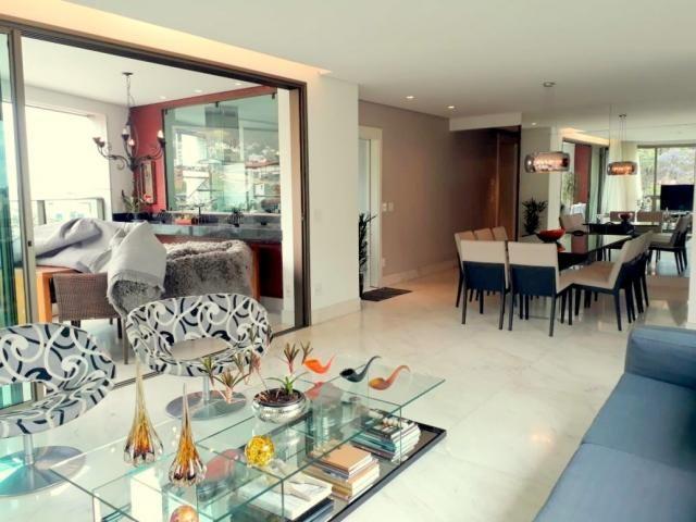 Apartamento 4 quartos à venda, 4 quartos, 4 vagas, serra - belo horizonte/mg - Foto 2