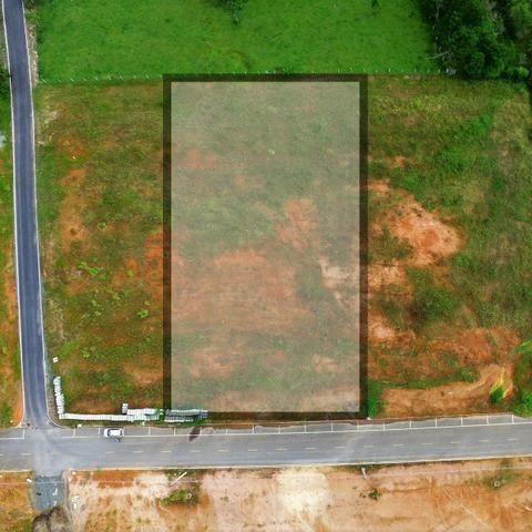 Alugo terreno as margens da BR 101 com pista marginal - Foto 4