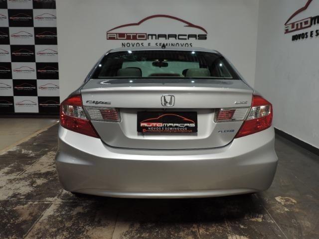 Honda Civic LXS 1.8 Flex I-Vtec Autom. _ Completo - Foto 3