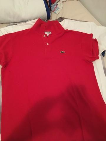 9afc195cf99 Polo lacoste vermelha original - Roupas e calçados - Jardim da ...