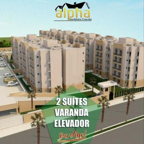 Único Apartamento no Passaré- Elevador- 2 Suites- Dentro do Minha Casa Minha Vida - Foto 5