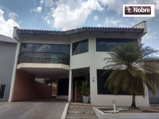 Sobrado com 4 dormitórios para alugar, 289 m² por r$ 3.520/mês - plano diretor sul - palma - Foto 2