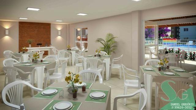 SAM - 162 - Apartamento 2 quartos + 1 espaço multiuso 50m² na Serra - ES - Foto 2