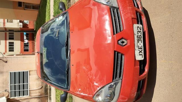 Reno Clio 2006 5.000 com reparos a fazer - Foto 5