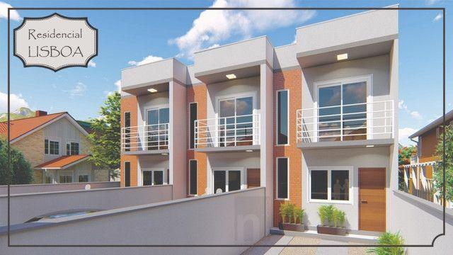 Casa Geminada com passagem lateral na Limeira, Brusque-SC - Foto 3
