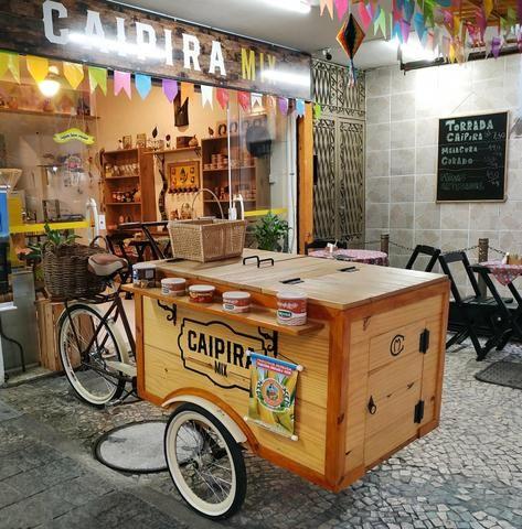 Triciclo retrô lindo! Ótimo para feiras e eventos - Foto 4