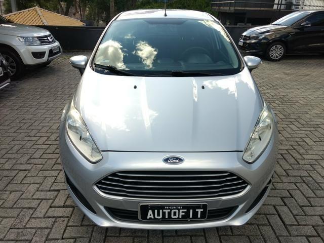 New Fiesta SE 1.6 Powershift Automatico de Único Dono 2014 - Foto 3