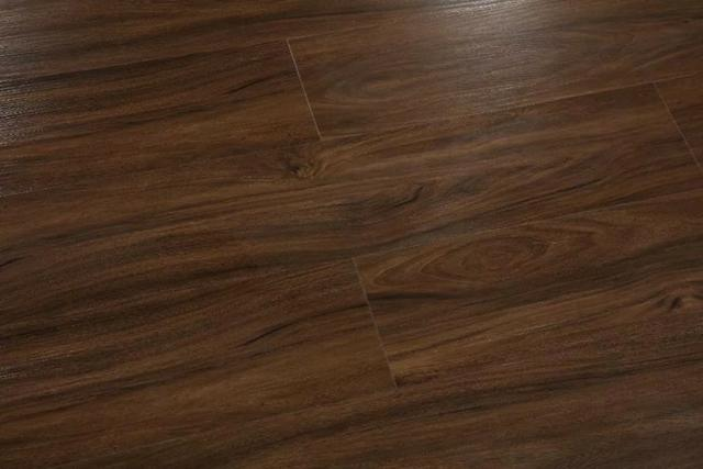 Piso Vinilico J.E. Floor Sistema Clicado Marrom Escuro Espessura 6mm - Foto 2
