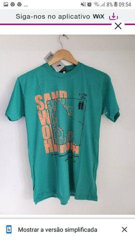 Camisas Básicas  20,00$(ATACADO) - Foto 4