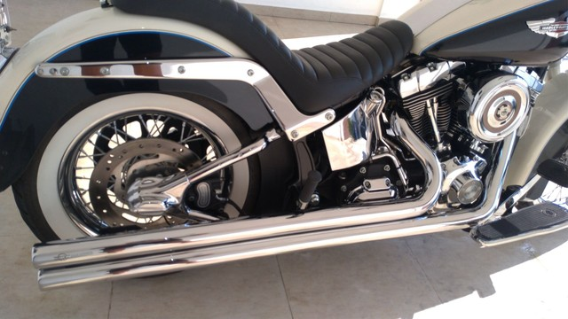 Moto Harley Davidson HD Softail Deluxe 2012 - Foto 4