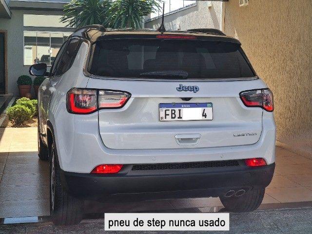 Jeep Compass 2018 Limited Branco Polar (perolizado) revisões na concessionária - Foto 3