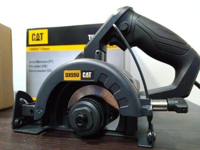 Serra Mármore CAT 1400W 110mm Corte 45/90Graus