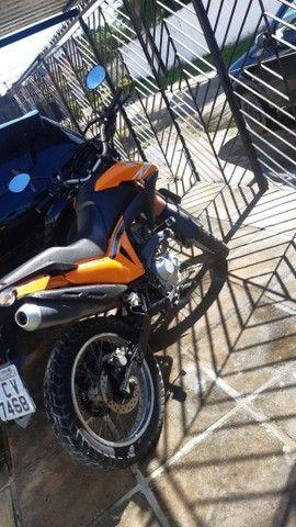 Moto bross laranja - Foto 5