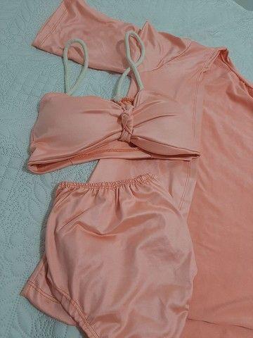 Vendo biquini novo cintura alta - Foto 2